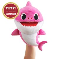 Pinkfong Baby Shark Official Song Puppet with Tempo Control - Mommy Shark - Interactive Preschool Plush Toy - By WowWee
