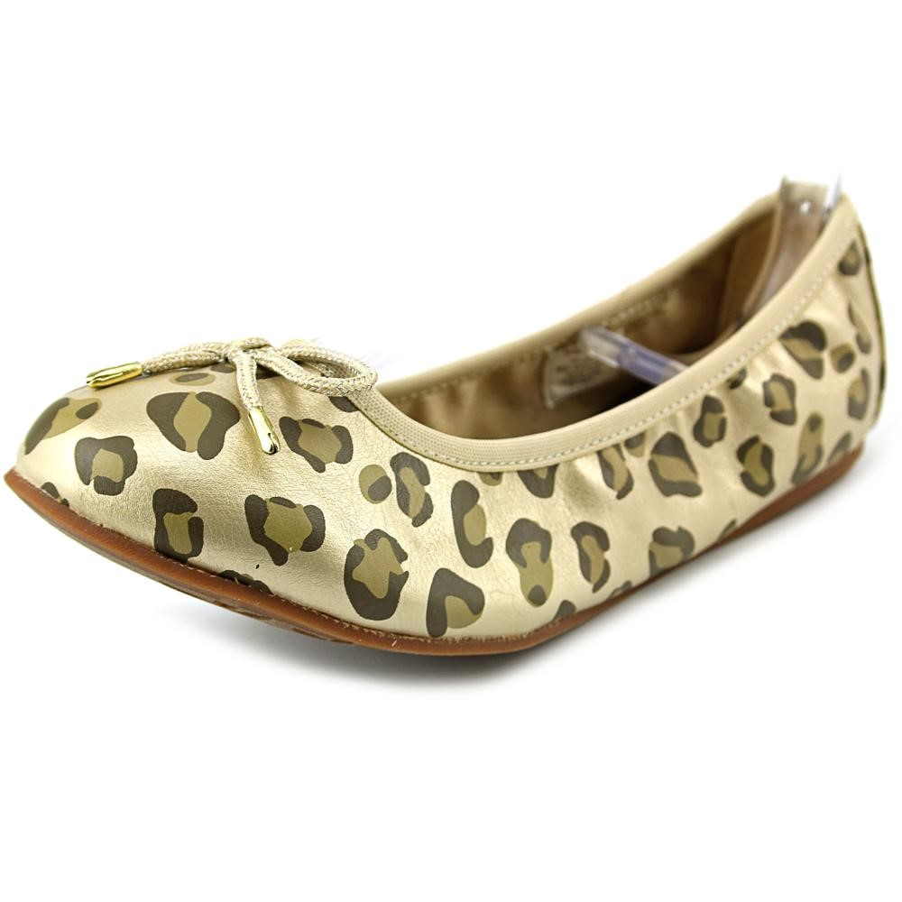 Hanna Andersson Julia Youth US 3 Gold Ballet Flats