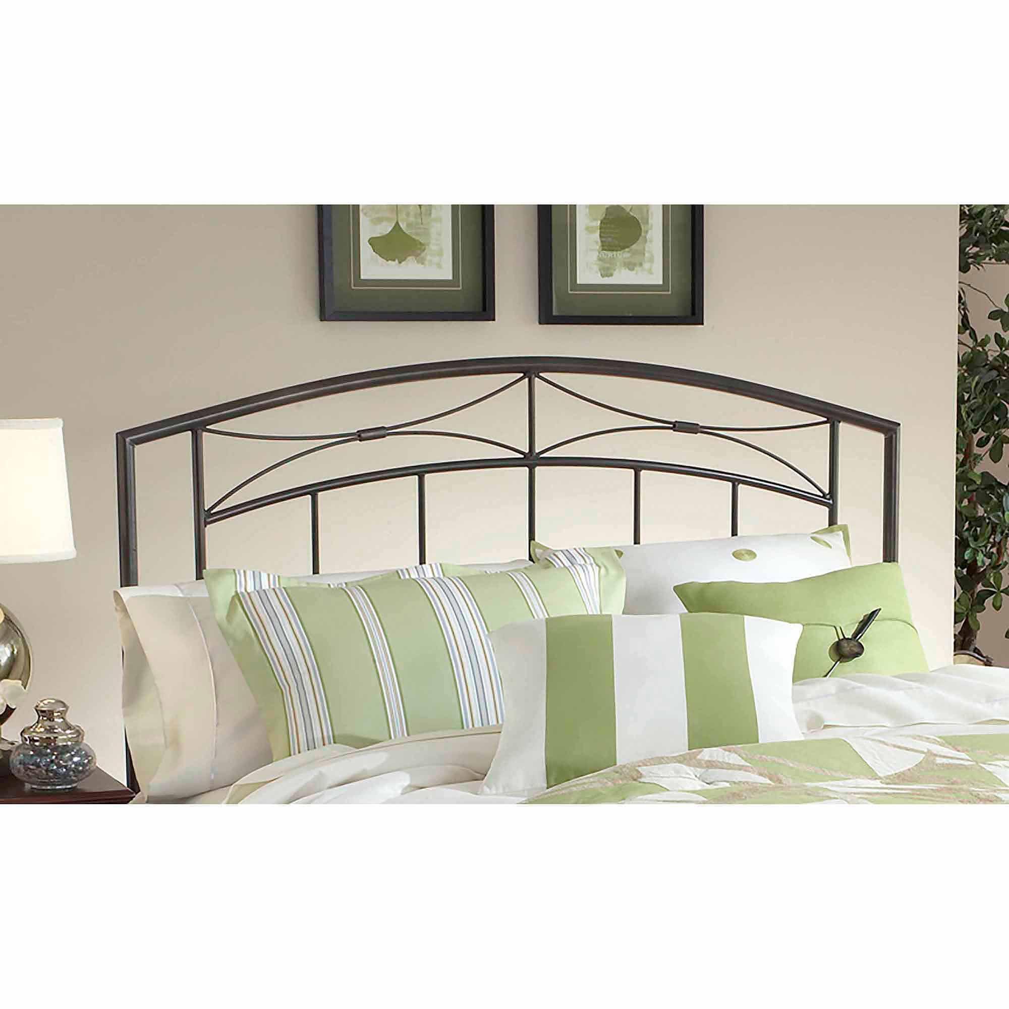 Hillsdale Furniture Morris Headboard, Full/Queen, Magnesium Pewter -Component