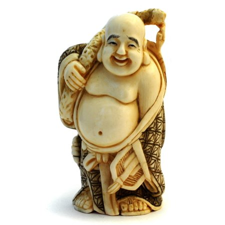 Framed Art For Your Wall Statue Mammoth Ivory Art Buddha Japanese 10x13 Frame
