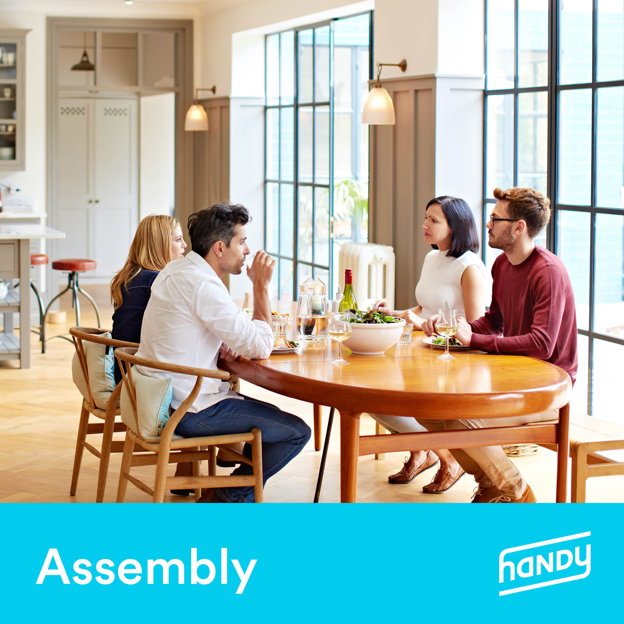 Kitchen & Dining Furniture Assembly by Handy