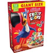 Kellogg's Froot Loops, Breakfast Cereal, Original, Giant Size, 27 Oz