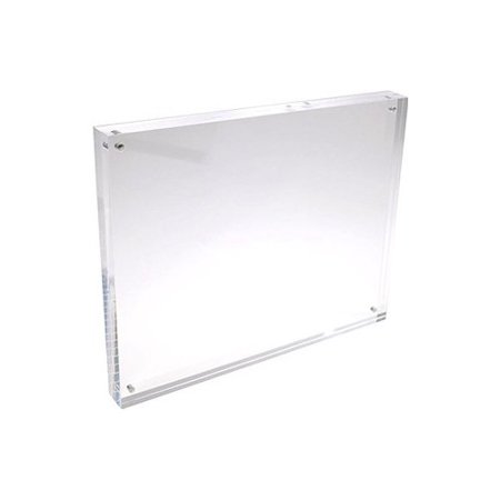 Framatic Frameless Glass Clip Picture Frame For A 8x12 Photograph