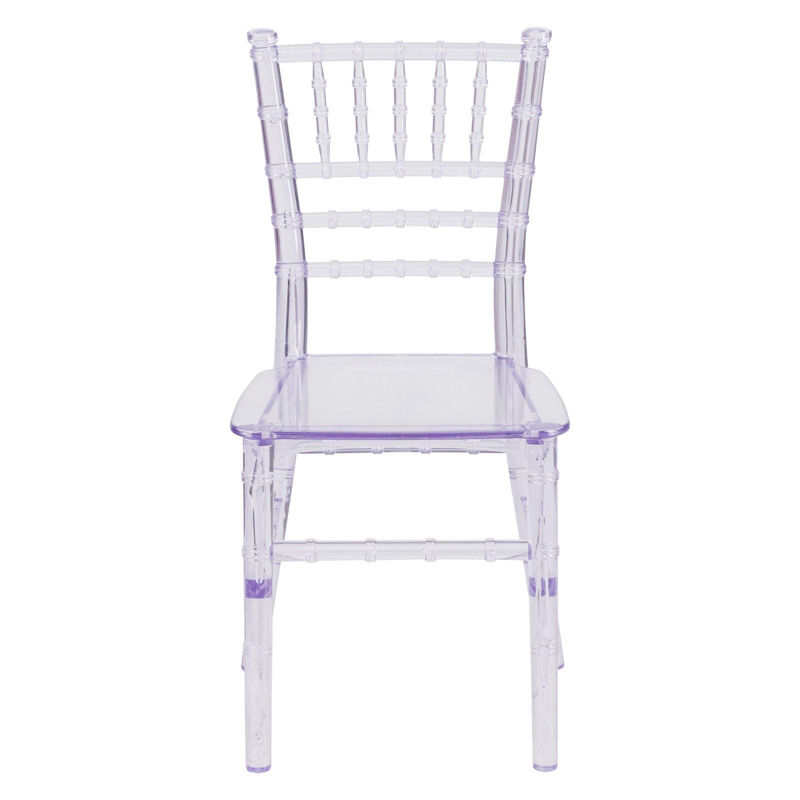 Flash Furniture Kids Crystal Transparent Chiavari Chair by Flash Furniture