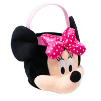 Disney - Disney Minnie Medium Plush Basket