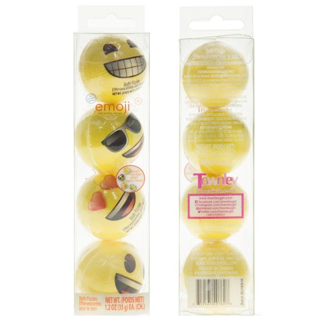 License Emoji 4pk Bath Bombs -