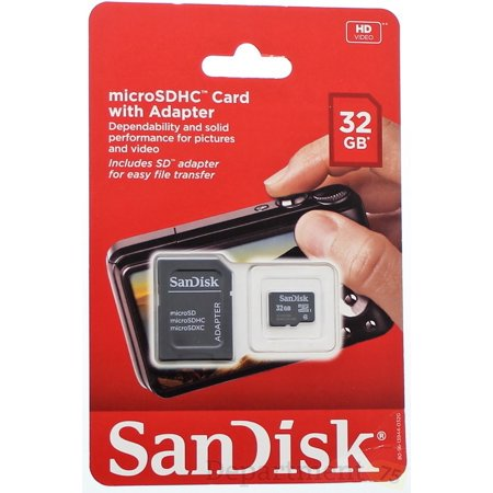 Sandisk 32g Class4 Microsd