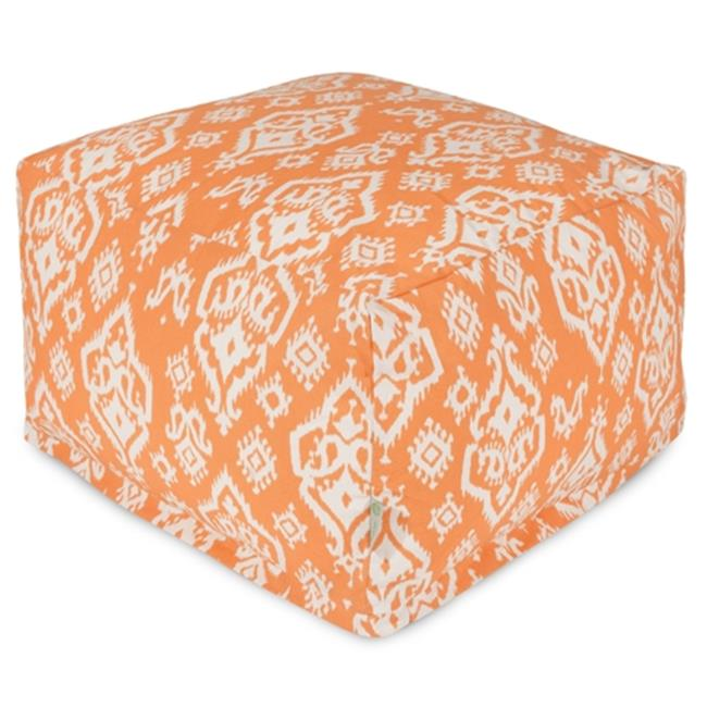 Majestic Home Peach Raja Large Ottoman