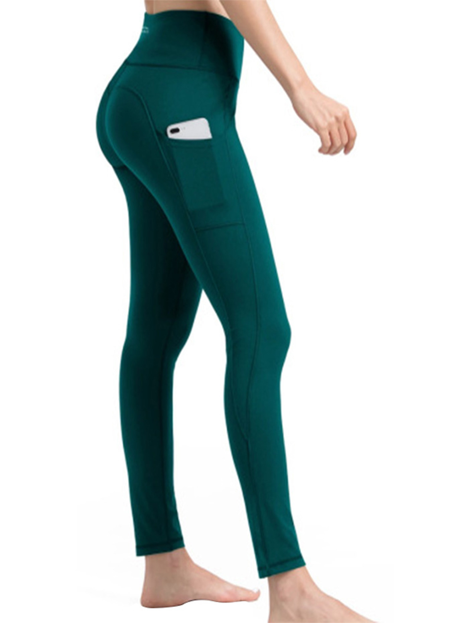 Details about  /Womens Ladies High Waisted Yoga Pants Gym Leggings Fitness Sports Running Tight
