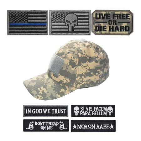 Tactical Cap To Send Military Cap Stickers Adjustable Operation Cap Hunting - image 1 of 5