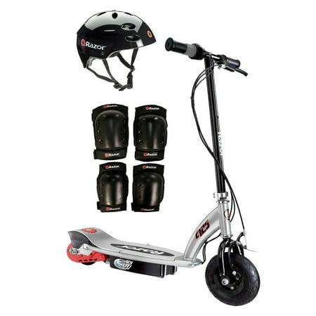 Razor e125 motorized 24 volt scooter black youth helmet for Motorized scooter black friday