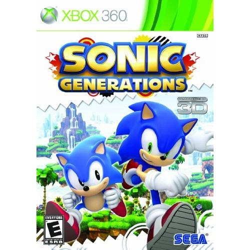 Sega Sonic Generations - Action/Adventure Game - Xbox 360
