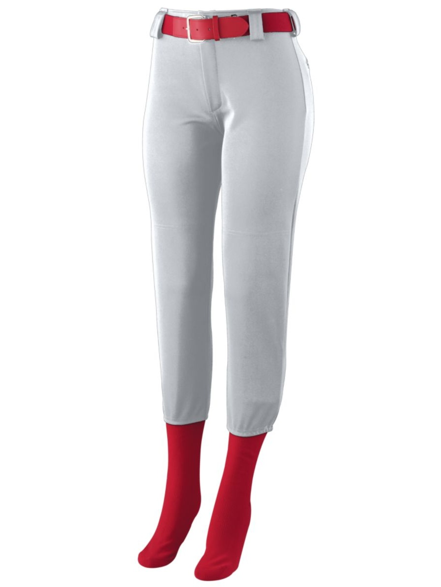 Augusta Sportswear GIRLS' HOMERUN LOW RISE SOFTBALL PANT 1241
