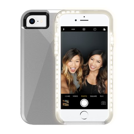 Incipio LUX Brite for iPhone 8, iPhone 7, iPhone 6s, and iPhone 6 - Silver