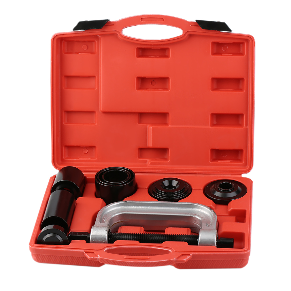 4-in-1 7Pcs Ball Joint Deluxe Service Kit Tool Set 2wd & 4wd Vehicles Remover Install,Wheel Drive Ball Joint Kit