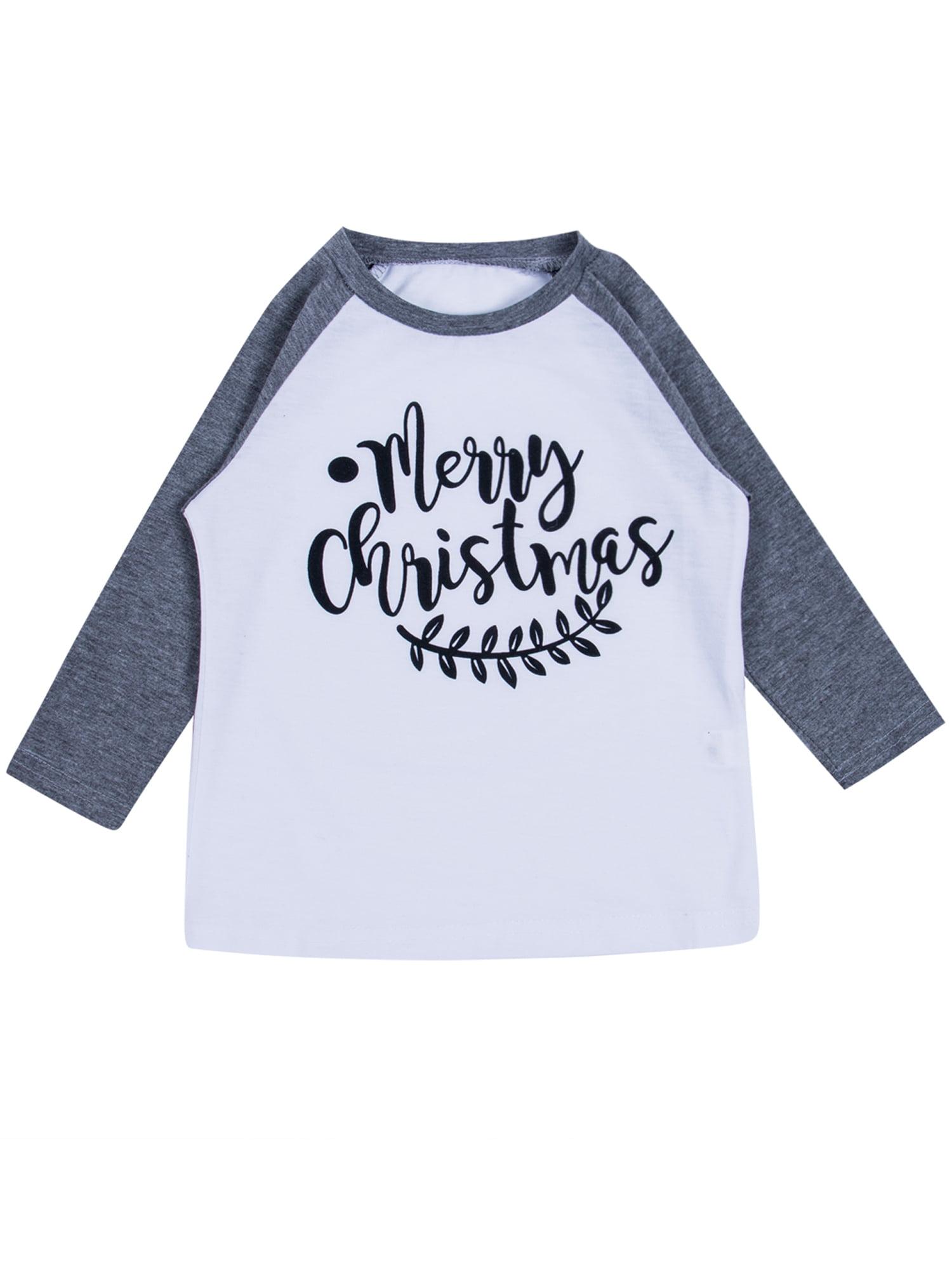 Details about  /Kids Childrens Boys Girls Xmas Jumper Sweater Christmas  Tops Sweatshirt Blouse