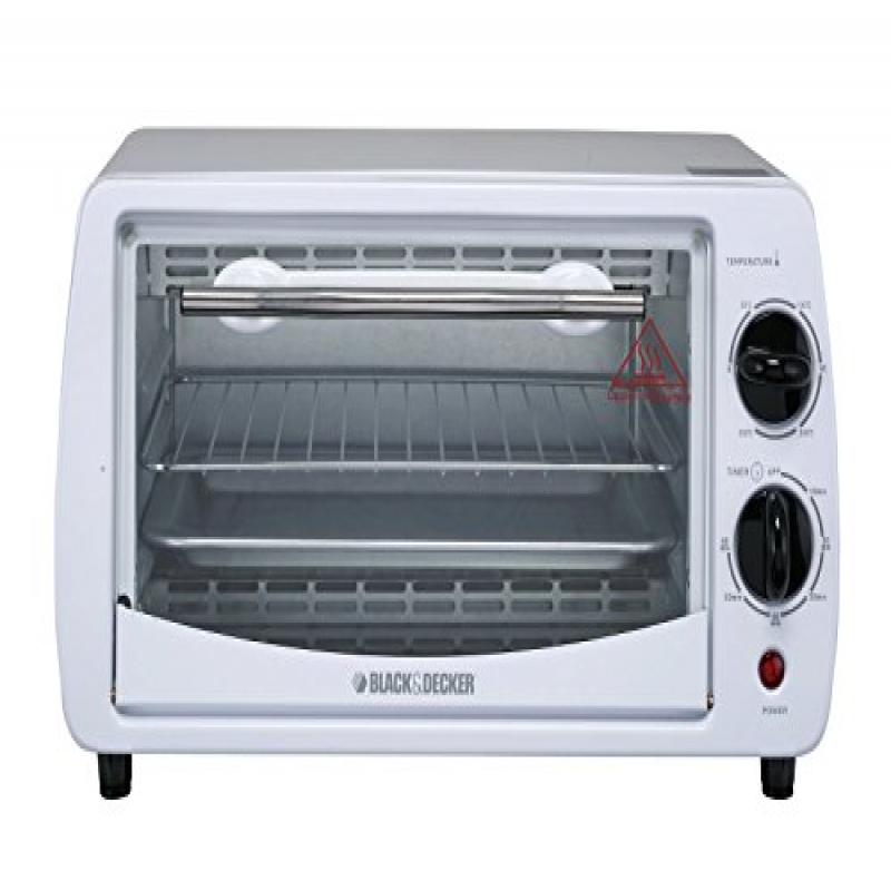 Black & Decker 800W TRO1000C 220-volt Toaster Oven with European Cord, 9-Liter