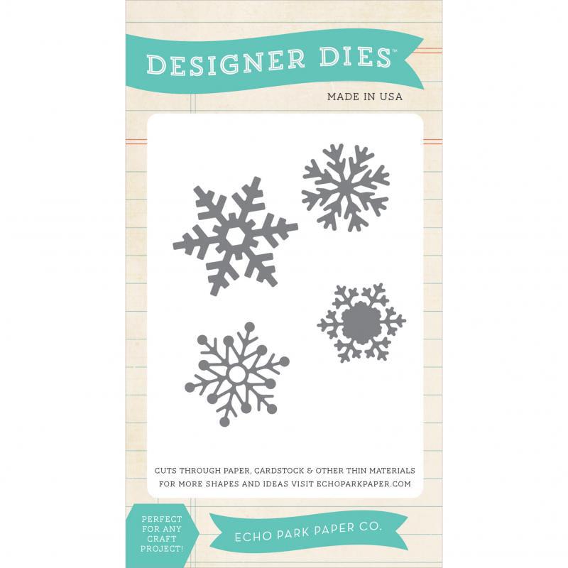 Echo Park Dies-snowflake Set 1