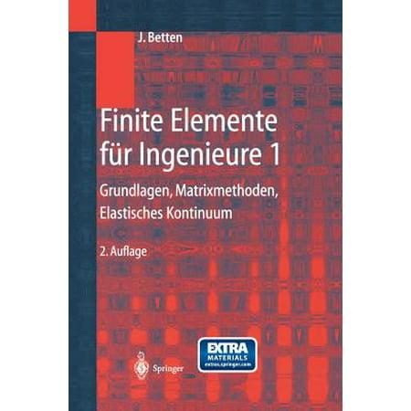 Finite elemente f r ingenieure 1 grundlagen for Finite elemente analyse fur ingenieure pdf