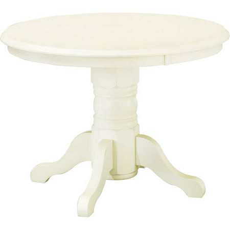 Home Styles Round Pedestal Dining Table Antique White Walmartcom