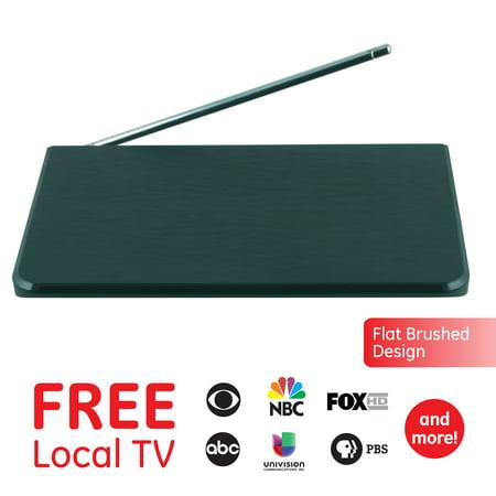 GE Pro Flat Panel HD Indoor TV Antenna, 40-mile range