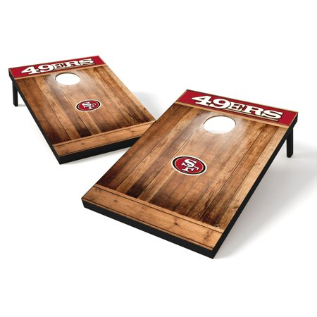 Tailgate Toss Wood Brown NFL Pittsburgh Steelers Pittsburgh Steelers Nfl Tailgate Table