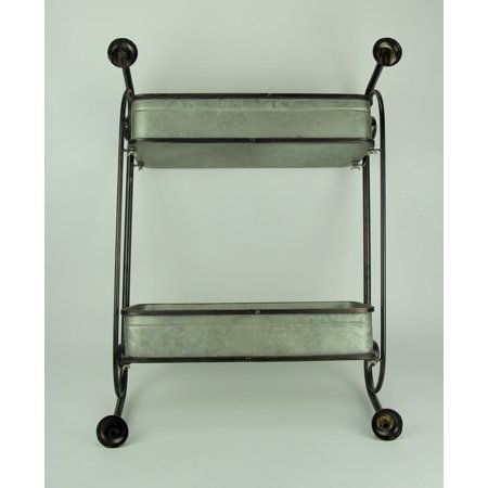 Rustic Metal Pipes and Suitcases Decorative Wall Shelf - image 2 de 3