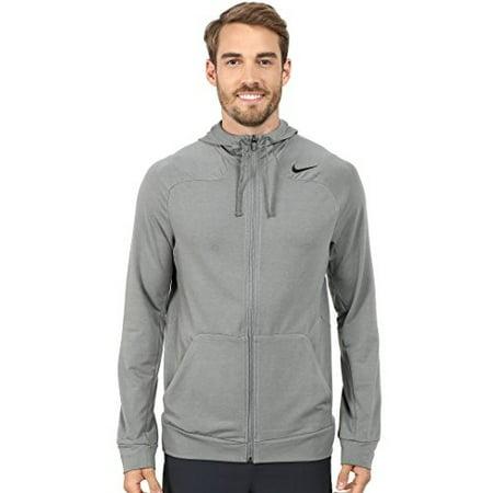 Nike - Nike Dri-Fit Touch Fleece Full-Zip Training Hoodie Mens Style   644293-037 Size  L - Walmart.com c89b320b3