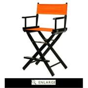"30"" Director's Chair Black Frame-Teal Canvas"
