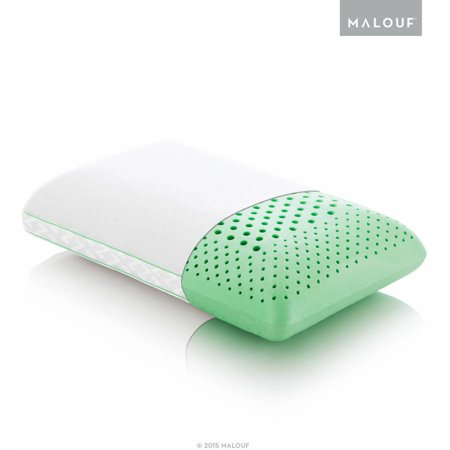 Z Zoned Dough Memory Foam Pillow Infused With Peppermint