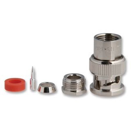 AMPHENOL RF 31-2 RF/COAXIAL BNC PLUG STR 50 OHM CLAMP/SLDR - 31-2 50 Ohm Rf Multiplexer