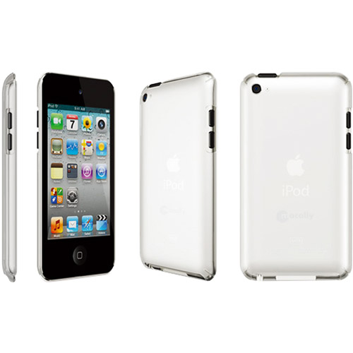 NEW MACALLY CLEAR METRO HARD CASE COVER FOR APPLE iPOD TOUCH 4 4G 4th GEN