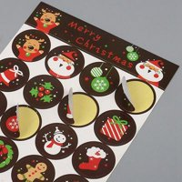 KABOER 20 Pcs Personalised Christmas Xmas Stickers Gift Tags Presents Santa Reindeer Labels