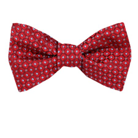 Mens Silk Self Tie Bow Tie