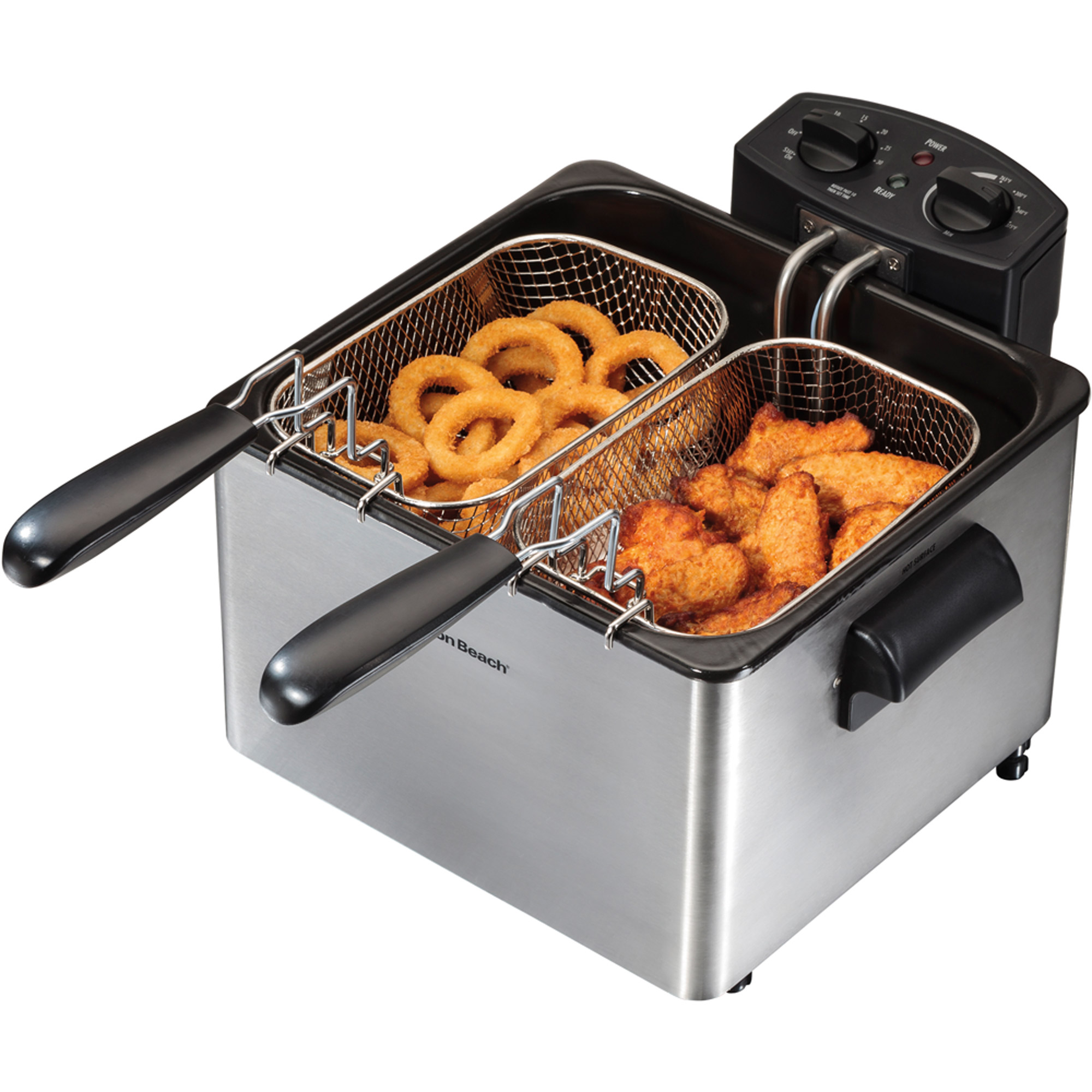Hamilton Beach Professional Style Deep Fryer | Model# 35034   Walmart.com