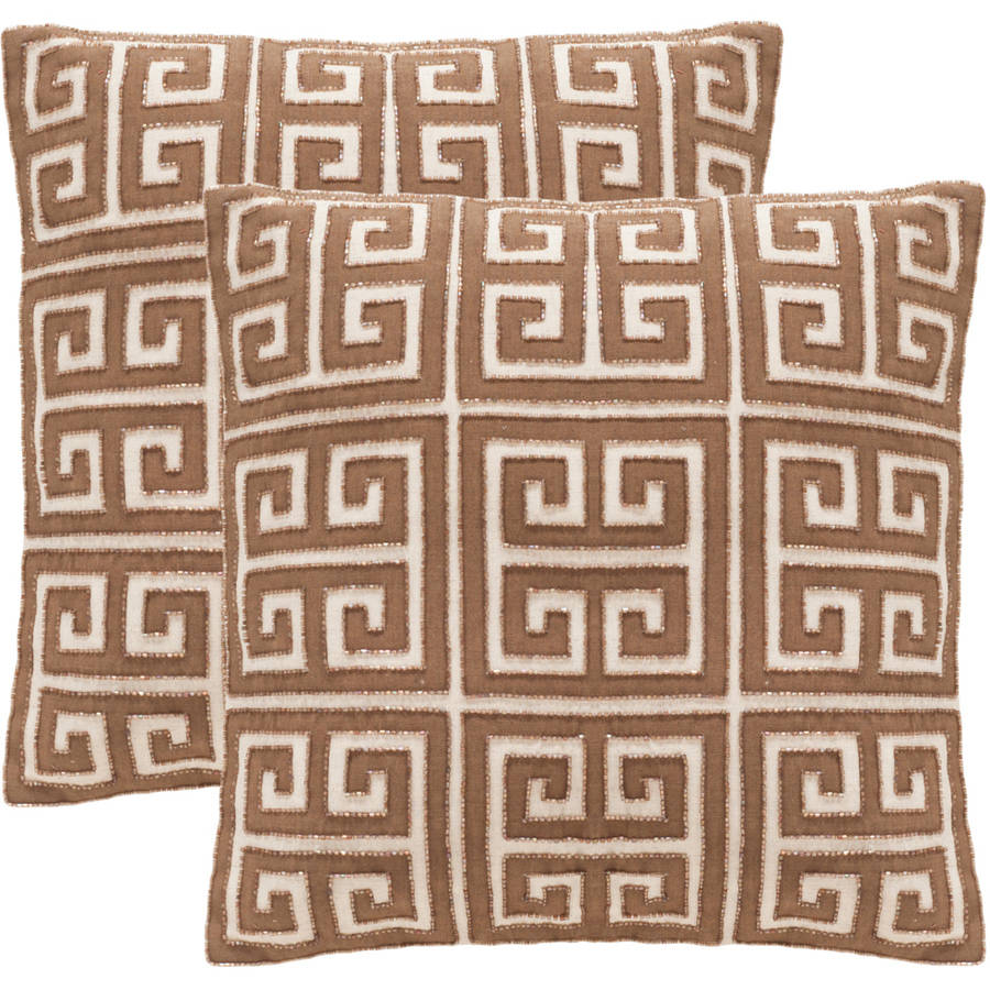Safavieh Chy Pillow, Multiple Colors, Set of 2