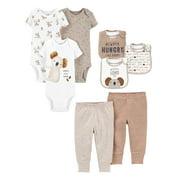 Child of Mine by Carter's Baby Boy Baby Shower Layette Gift Set, 8-Piece, Preemie-24 Months