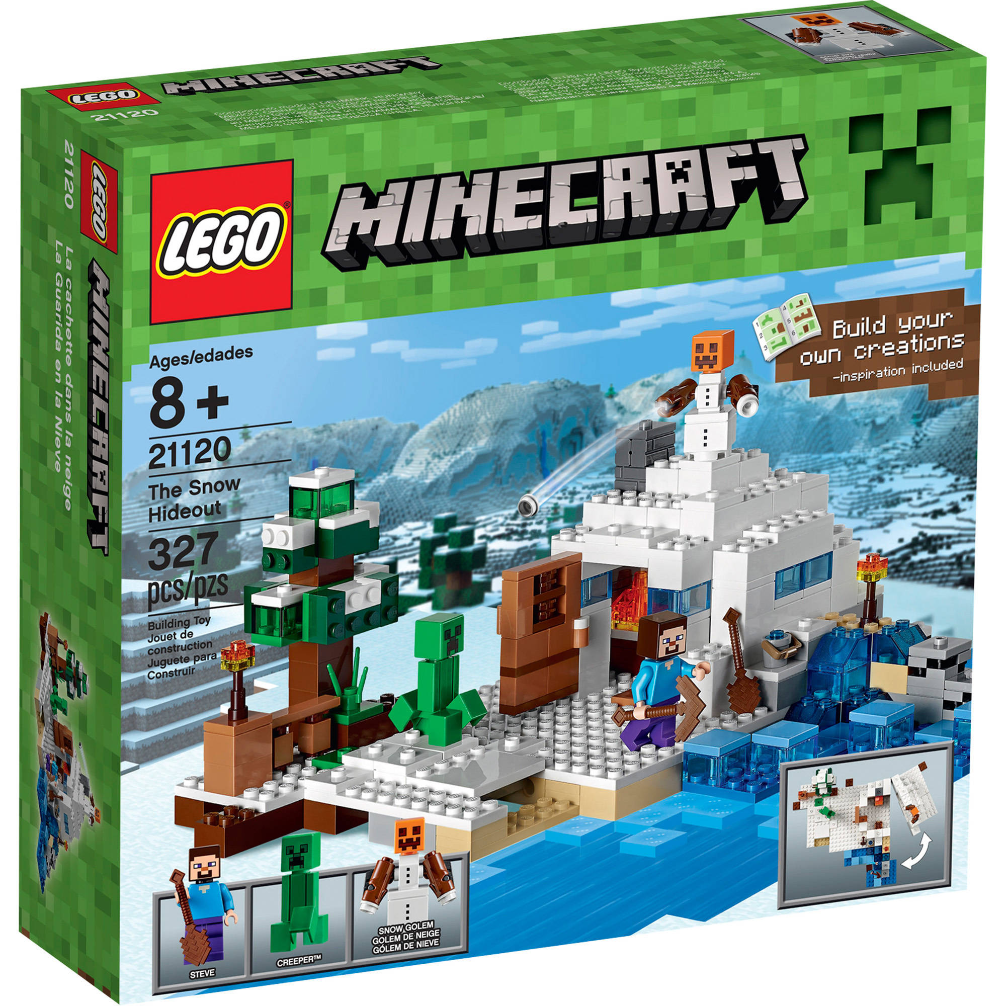 Lego Minecraft The Snow Hideout 21120 by LEGO Systems, Inc.
