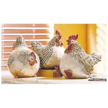 CBK Fat Chickens Figure (Set of 3)