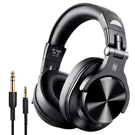 OneOdio Fusion Bluetooth Over Ear Headphones, Studio DJ Headphones with Share-Port, Wired and Wireless Professional Monitor
