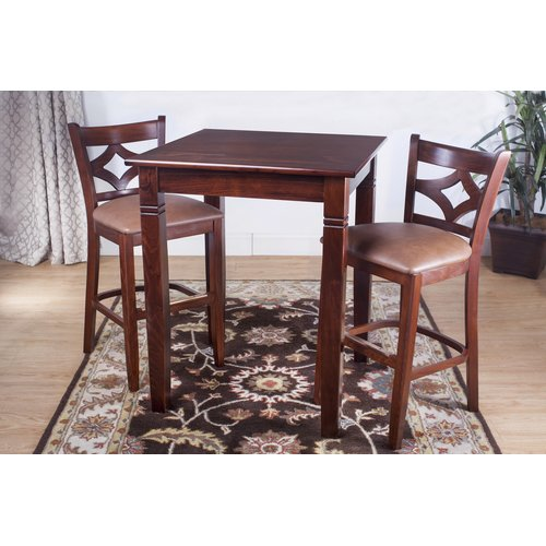 Bloomsbury Market Fralick 3 Piece Pub Table Set