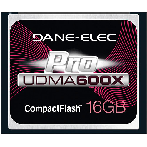 Dane Elec Proline 600X 16GB Compact Flash Memory Card
