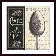 Printfinders 'French Menu I' by Pela Studio Framed Vintage Advertisement