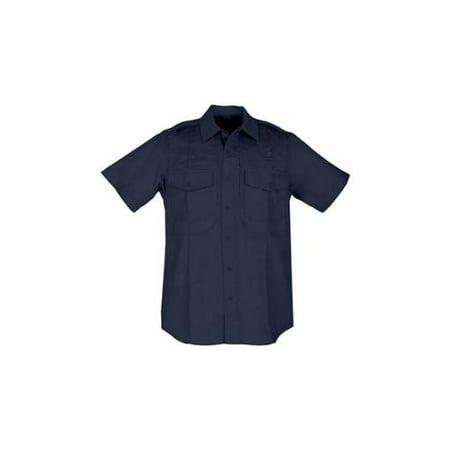 Men's Taclite 71168 PDU Short Sleeve Class B Shirt, Midnight Navy