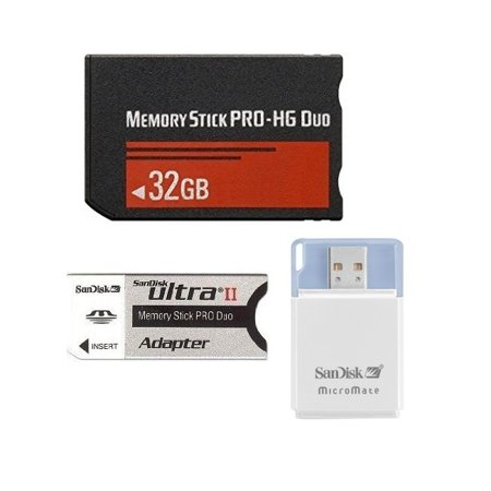 Generic 32GB Memory Stick PRO Duo Memory Card for PSP Playstation - Micromate