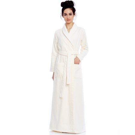 eac1f3787e Be Relax Long Women s Long Terry Robe XXL - Walmart.com