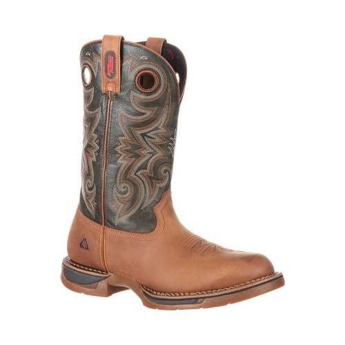 """Men's Rocky 14"""" Long Range Waterproof Western Boot by Rocky"""