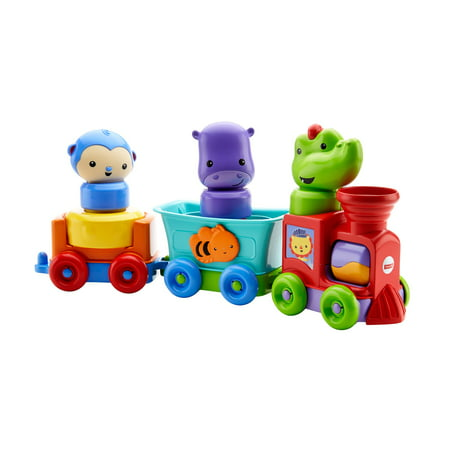 Fisher-Price Silly Safari Rattle & Roll Animal Train - Fisher Price Keyboard