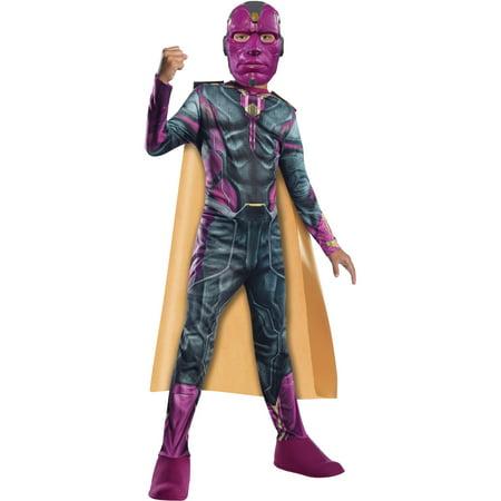 Kid's Boys Marvel Vision Avengers 2  Costume