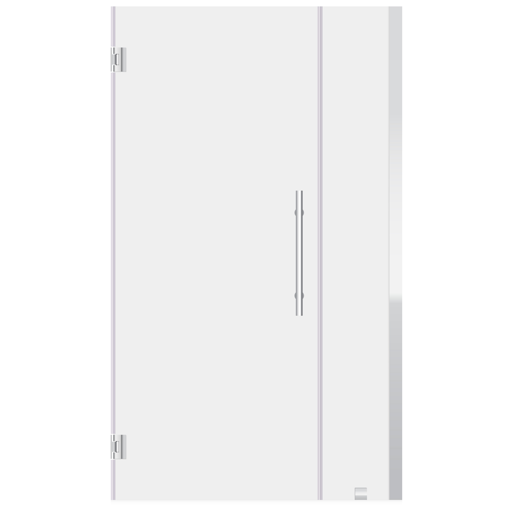 LessCare 32-33 W x 72 H Swing-Out Shower Door Chrome ULTRA-E